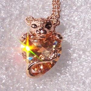 Pandora Rose Sparkling Lion Princess Heart Pendant